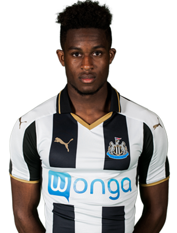 Newcastle United midfielder Rolando Aarons
