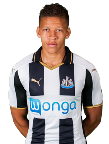 Newcastle United forward Dwight Gayle