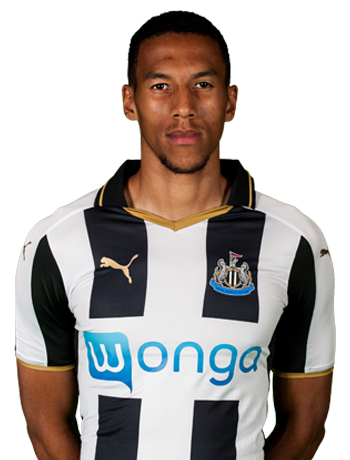 Newcastle United midfielder Isaac Hayden