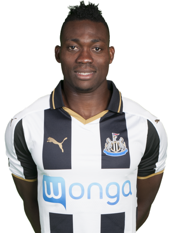 Newcastle United midfielder Christian Atsu