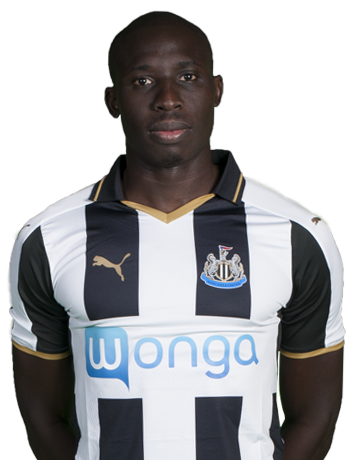 Newcastle United midfielder Mohamed Diame