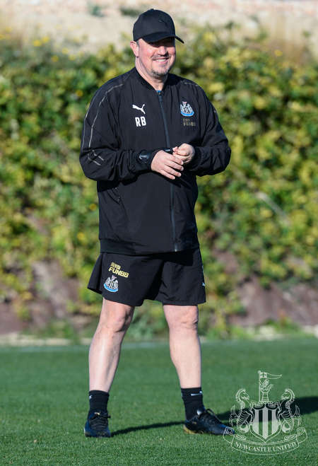 Toon in training: Second day in Spain