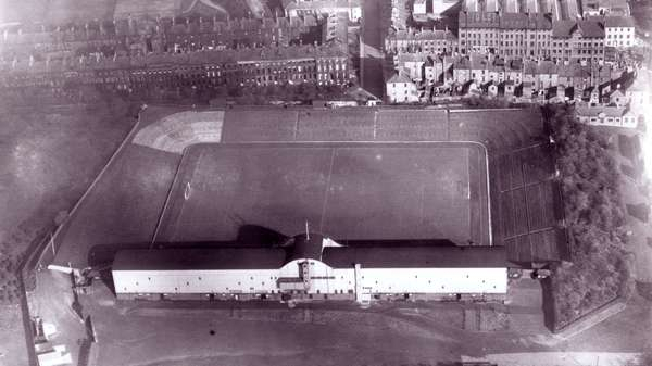 Only The West Stand Had A Roof In This Picture From 1929