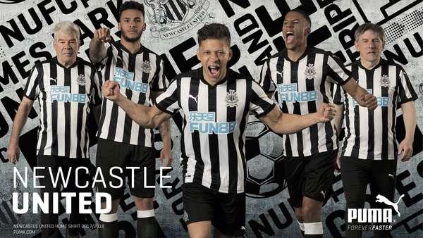 a0c571279d7 Newcastle United - FUN88 becomes Newcastle United shirt sponsor