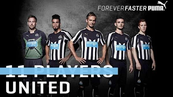 b1f20fbd4 Newcastle United - Newcastle United 2014 15 Puma Home Kit Unveiled