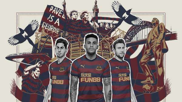 67fa7afd5 New away kit revealed. Newcastle United have revealed the ...