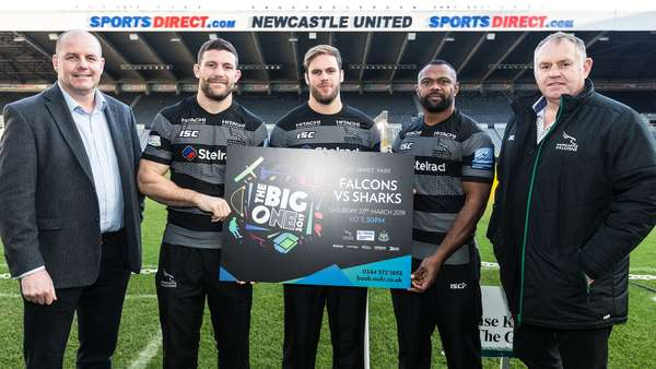 bc22d4b0fb1 Tickets for The Big One on sale this week. Tickets for Newcastle Falcons'  ...