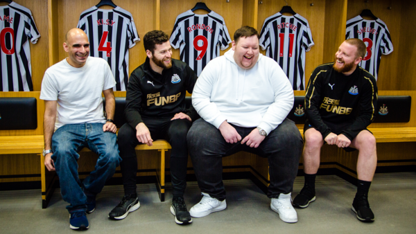 856a8156f Toon fans at the heart of new mental health campaign. Newcastle United  Foundation have launched ...