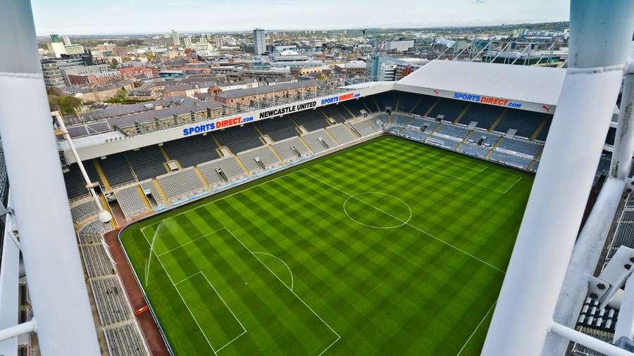 Newcastle United - Stadium Plan & Visitor's Guide
